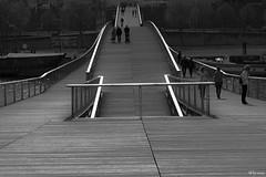 rails of light (@lyves) Tags: paris bridge simone de beauvoir