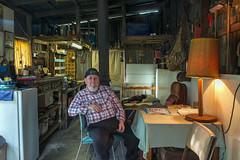 West Footscray (Westographer) Tags: westfootscray melbourne australia portrait mancave shed oldschool