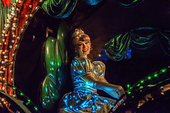 Cinderella in Main Street Electrical Parade in Disneyland (GMLSKIS) Tags: disney anaheim california princess cinderella mainstreetelectricalparade disneyland