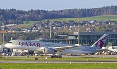 ZRH/LSZH: QatarAirways Airbus A350-941 MSN09 A7-ALC (Roland C.) Tags: airport zurich kloten zrh lszh qatar qatarairways a350 a350941 a350900 a359 a7aic airbus