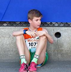 Disappointed (Cavabienmerci) Tags: rotseelauf 2017 suisse schweiz switzerland run running race sport sports runner läufer lauf course à pied coureur boy boys