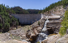 C.C. Cragin (Blue Ridge) Reservoir (Coconino National Forest) Tags: arizona blueridgereservoir cccraginreservoir coconinonationalforest forestservice mogollonrimrangerdistrict nationalforest pentaxk1 usforestservice usfs dam forest lake outdoors pan panorama reservoir water clintswell unitedstates