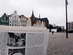 (frollein2007) Tags: rostock mecklenburgvorpommern mv nordisch ostsee warnow neuermarkt ernstthälmannplatz architekturführer ddr bezirk 1978