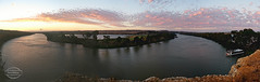 Mannum weekend (Paula McManus) Tags: mannum murrayriver rivermurray adelaide southaustralia paulamcmanus olympus olympusomd rural country nature landscape travel tourist tourism riverland murraymallee bowhill view sunset houseboat panorama panoramic