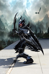 Skyrim knight (mouseart005) Tags: skyrim videogame ps3 ps4 playstation4 onlinerpg mmorpg role playing cosplay comiccon costume nikon knight fantasy dragons armour sword shield helmet mountians kitchenercomicon2017 cosplay2017