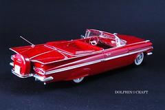 1959 IMPALA 1 (DOLPHIN☆CRAFT) Tags: 1959 chevrolet impala convertible monogram シボレー インパラ コンバーチブル モノグラム プラモデル