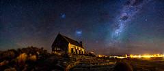 Astro Workshop (robjdickinson) Tags: sky astronomy light galaxy dark landscape astro pano panoramic stitch milkyway tekapo workshop