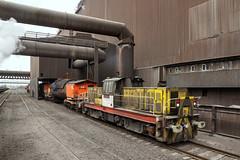 Big Keith (Kingmoor Klickr) Tags: bigkeith hunslet 7281 steelplant longsection industrylindustrialrailway