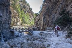Samaria Gorge (Shadowgate) Tags: samaria gorge nature goat abandoned iron gate rock rocks passage greece crete agia roumeli tree trees woods