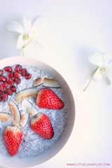 Chia seed pudding recipe with lilies by little luxury list (little luxury list) Tags: dessert food recipe recipes healthyfood healthyliving healthy chiaseed