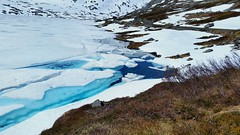 Blue ice (michellemätzig) Tags: ice snow winter cold colour blue white light shadow norway europe nature landscape lake wow best beautiful good gorgeous awesome exciting incredible favorite fantastic