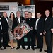 Joe Dolan, IHF President, with Niall Caffrey, Jack Quirke, Ann Marie Phillips, Aidan Maher, Shane Barry and Michael Lyons, Diageo