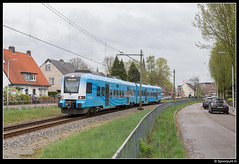 CXX 5031 - 31320 (Spoorpunt.nl) Tags: 15 april 2017 connexxion protos 5031 trein 31320 ede wageningen centrum buitenzorglaan