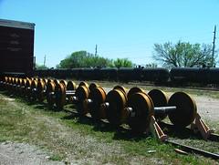 Wheels (jHc__johart) Tags: rails tracks wheels railroad tankcars