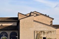 Triangular (mikael_on_flickr) Tags: triangular triangolare artdeco forlì emiliaromagna building monastery monastero angles angoli architecture architettura arkitektur skyarchitecture sky himmel cielo