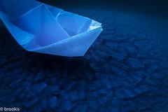 MM - Glaze (brookis-photography) Tags: glaze blue paper boat small macromondays plate