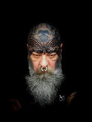 Evolution: ongoing (Bear & Rabbit (formerly BC&IKB)) Tags: facetattoo tattoobear tattooedbear tattooedintheuk facialtattoo