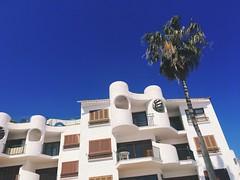 Well designed House at Alcudia Beach in wonderful Mallorca. (DETart) Tags: design palmtree palme himmel blau sky blue sonne sun haus house
