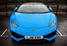 2016 Lamborghini Huracán LP610-4 Spyder. (dementedb43) Tags: 2016 lamborghini huracán lp 6104 spyder icons by the lake virginia water raging bull rain exotic world cars supercar blue blu lemans