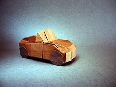 Convertible 3.3 - Jason Ku (Rui.Roda) Tags: origami papiroflexia papierfalten carro coche voiture car vehicle convertible 33 jason ku
