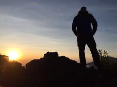 Sunrise on Gunung Batur (pierpysadventure) Tags: gunung batur sunrise bali indonesia trekking nature natura alba mountain sky vulcano montagna