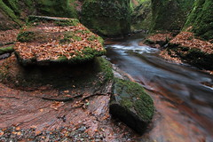 The Devil's Pulpit, Finnich Glen (Gordon.A) Tags: scotland stirlingshire killearn finnichglen carnockburn devilspulpit water nature outdoors scottish river burn glen gorge canon longexposurephotography
