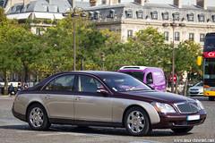 Spotting 2013 - Maybach 57 (Deux-Chevrons.com) Tags: maybach57 maybach 57 car coche voiture auto automobile automotive spot spotted spotting luxury croisée rue street luxe paris france prestige