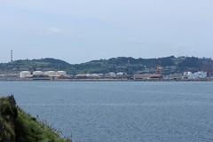 IMG_1178_1 (Pablo Alvarez Corredera) Tags: xixon gijon mar orilla puerto rocas roca zul azules cielo