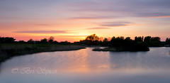 Lake view (Through Bri`s Lens) Tags: worthing brooklandsboatinglake sunset longexposure leelittlestopper smooth clouds brianspicer canon5dmk3 canon1635f4 lee09softgrad