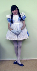 New Easter dress (marcia2015au) Tags: petticoatpunishment sissy crossdresser crossdressing dressing cosplay petticoats littlegirl adultlittlegirl partydress partyfrock