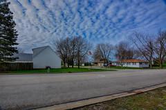 Ribbons of Blue (kendoman26) Tags: sky clouds blue ribbons hdr nikhdrefexpro2 nikon nikond7100 morrisillinois tokinaatx1228prodx tokina tokina1228