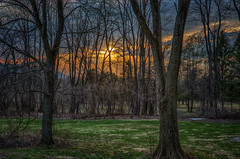 Sunset-4.14 (desouto) Tags: nature hdr landscape trees sky color forest rivers wildflowers clouds