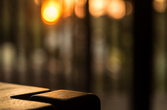 Coffee table sunset (OzzRod) Tags: pentax k5iis industar61lzmc50mmf28macro индустар61лз lanthanum m42 intothesun closeup bokeh table dailyinapril2017 uncropped