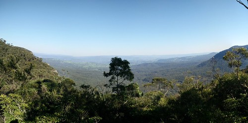Megalong Valley from Golden Stairs