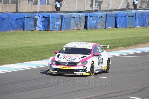 Mike Epps during qualifying during the BTCC Weekend at Donington Park 2017: Saturday, 15th April