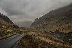 The Road through Glen Etive - April 2017 (GOR44Photographic@Gmail.com) Tags: skyfall road cloud glen gor44 scotland etive pentax k50 1645mmf4 river water mountains hills highlands argyll