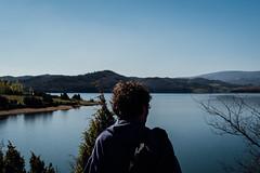 (susanagdv) Tags: lake sand green blue boy back photography love guy basque country lago azul peace paz free freedom libre libertad happiness felicidad
