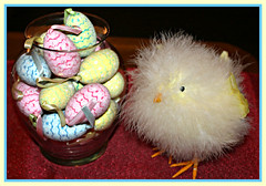 What Came First... (bigbrowneyez) Tags: chick flickr fluffy soft eggs easter celebration religious chocolate delicious precious delicate pastels preious unique artful creative tribute dedication annual tradition clever girl cute tenderness joyful lovely sweet fun colourful