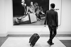 Different Destinations (Destinazioni Differenti) (Anton Pisani (Malta)) Tags: orioalserio stilllife streetphotography post fly airport people baggage suitcase case bag travel italy italia