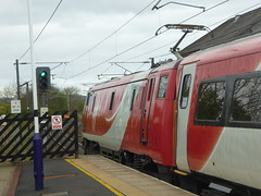 91129 at Alnmouth (17/4/17) (*ECMLexpress*) Tags: virgin trains east coast 225 class 91 91129 82228 alnmouth for alnwick ecml