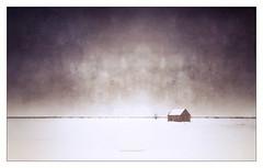 Purple twilight (Crépuscule pourpre) (patrice ouellet) Tags: patricephotographiste twilight purple pourpre winter landscape paysage hiver crépuscule