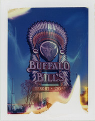 Buffalo Bill's (Nick Leonard) Tags: nickleonard roidweek polaroidweek instantfilm film analog polaroid sign signage neon neonsign vintage primm nevada hotel casino resort yesco expiredfilm polaroid108film expired2000 peelapartfilm packfilm polaroid450landcamera polaroidlandcamera