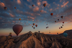 Dreams of Cappadocia (Krasi St Matarov) Tags: cappadocia travel phototour landscape nikon balloons clouds workshop sky fly adventure mountain nature