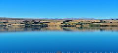Quiet Blue (T Ξ Ξ J Ξ) Tags: newzealand aoraki mountcook d750 nikkor teeje nikon2470mmf28 blue day lake cook park