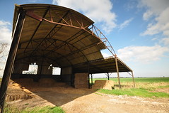 Essex Foulness Island (daveknight1946) Tags: essex foulness island barn hay bales