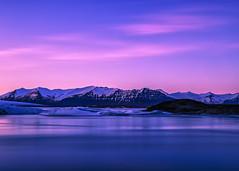 What's not to love about you? (PokemonaDeChroma) Tags: happy earthday jokulsarlon iceland bluehour long exposure glacier lagoon vatnajokull nationalpark iceberg