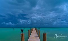 Florida Life: Key Lime Green (Thūncher Photography) Tags: sony a7r2 sonya7r2 ilce7rm2 zeissfe1635mmf4zaoss fx fullframe scenic landscape waterscape oceanscape pier beach tropical sky clouds colors islamorada floridakeys overseashighway southflorida florida