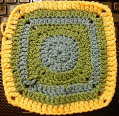 TB16 Temperature blanket week 16 (Jacqi B) Tags: temperatureblanket temperatureblanket2017 crochet crafts explored