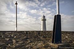 Donaghadee Lighthouse (dareangel_2000) Tags: dariacasement codown northernireland donaghadee lighthouse sun sea sand naval maritime pier harbour beach beacon buoy