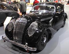 Streamlined Popular (Schwanzus_Longus) Tags: škoda techno classica essen german germany czech czechia old classic vintage car vehicle streamlined aerodynamic body skoda popular monte carlo coupe coupé